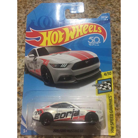 1/64 Hot Wheel 2015 Ford Mustang Gt Borla Edición 50th