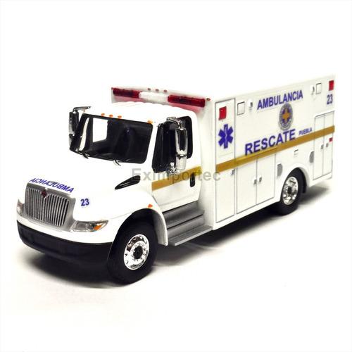 1:64 international durastar ambulancia personalizada