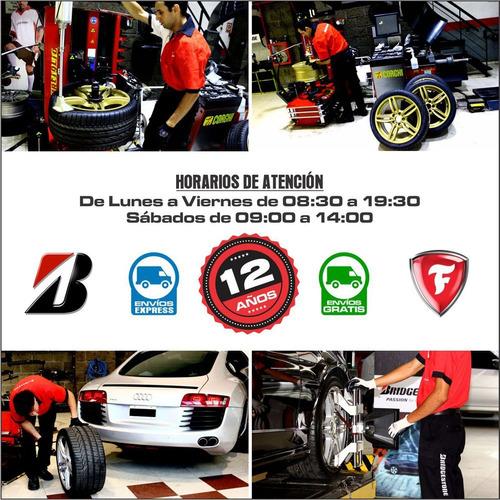 165/70 r13 bridgestone potenza re740 envío gratis $0 cuotas