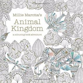 1679 Reino Animal Libro Para Colorear Mandala Adultos Relax