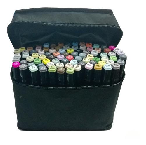 168 lápices marcadores doble con bolsa