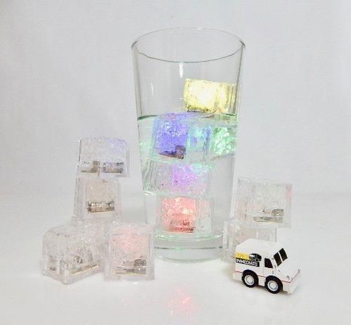 168 pzas. led rgb colores tipo hielo sumergible