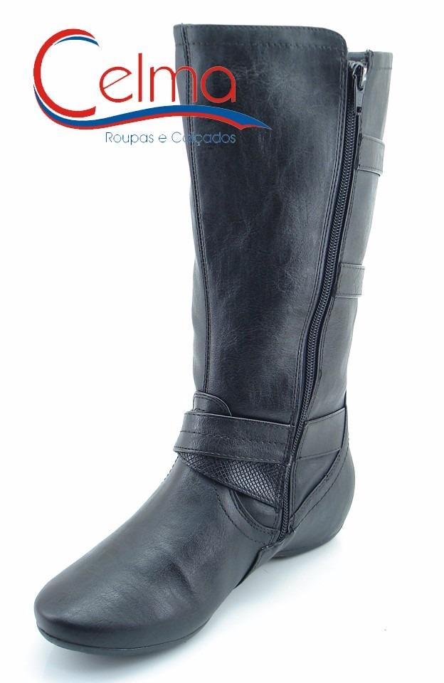 f4a1dd6274 1691304 bota comfortflex cano ajustável para perna grossa. Carregando zoom.