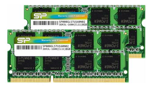 16gb (2 x 8gb) ddr3l ram 1600mhz (pc3 12800) 204 pin