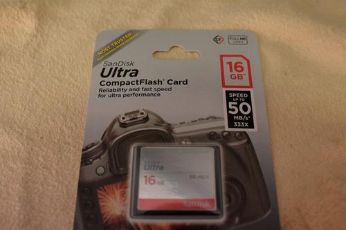 16gb compactflash memoria sandisk