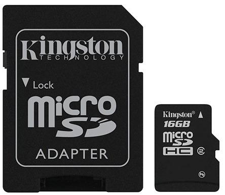 16gb kingston celulares memoria micro