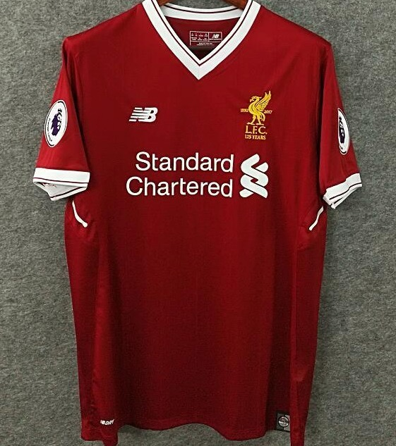 4029721f22 17-18 Camisa Liverpool Home Coutinho   10 Henderson   14 - R  134