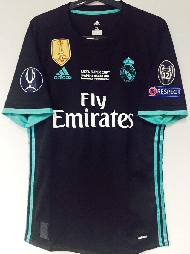 2fd8838b74 17-18 camisa real madrid away isco   22 uefa super cup. Carregando zoom.