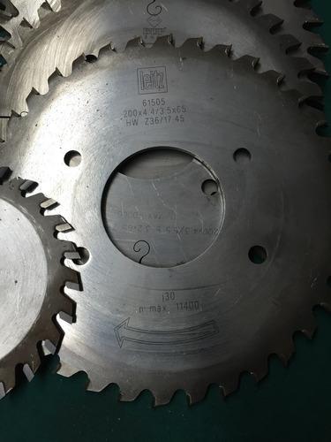 17 discos de corte carburo de tugsteno no mitutoyo starrett