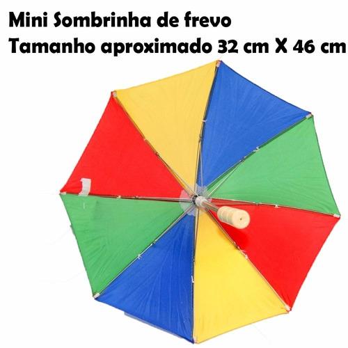 17 mini sombrinha frevo dança decoração carnaval  aeio@