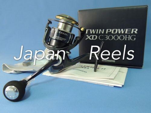 17 Nuevo Shimano Twin Power Xd C3000hg C Hg 3000 Carrete De