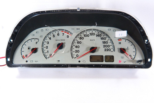 17 palio fire painel velocimetro rpm sem acrilico 46831164 /