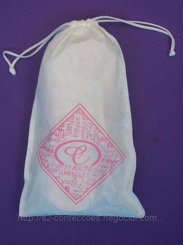 170 sacolas tnt personalizada 23x35cm - ideal para chinelos