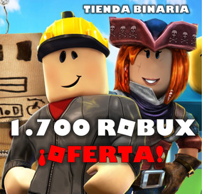 1700 Robux En Roblox Oferta Limitada - how to make a sword fighting game on roblox 2016
