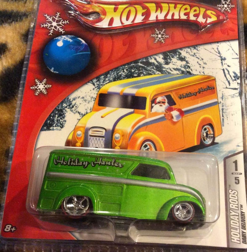 171 - hot wheels  dairy delivery holiday rods 2006