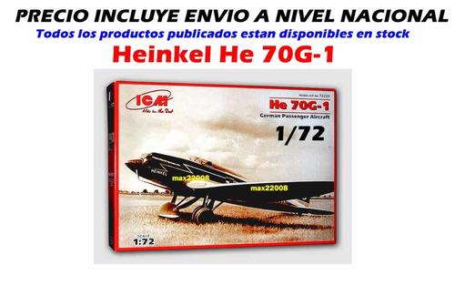 1/72 avion heilkel 70 mirage barco aerografo tanque mig auto