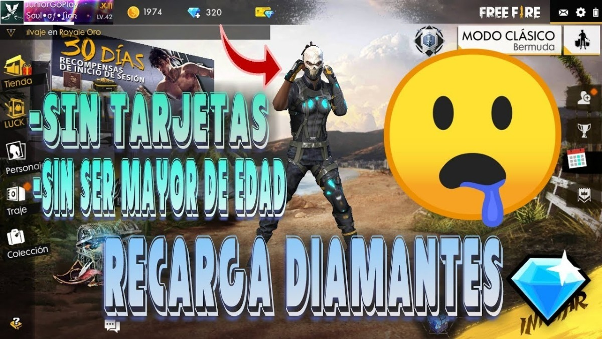 Garena diamantes