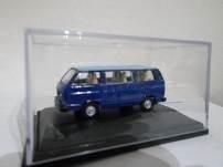 1/76 vw combi c/vidrios azul/cel oxford
