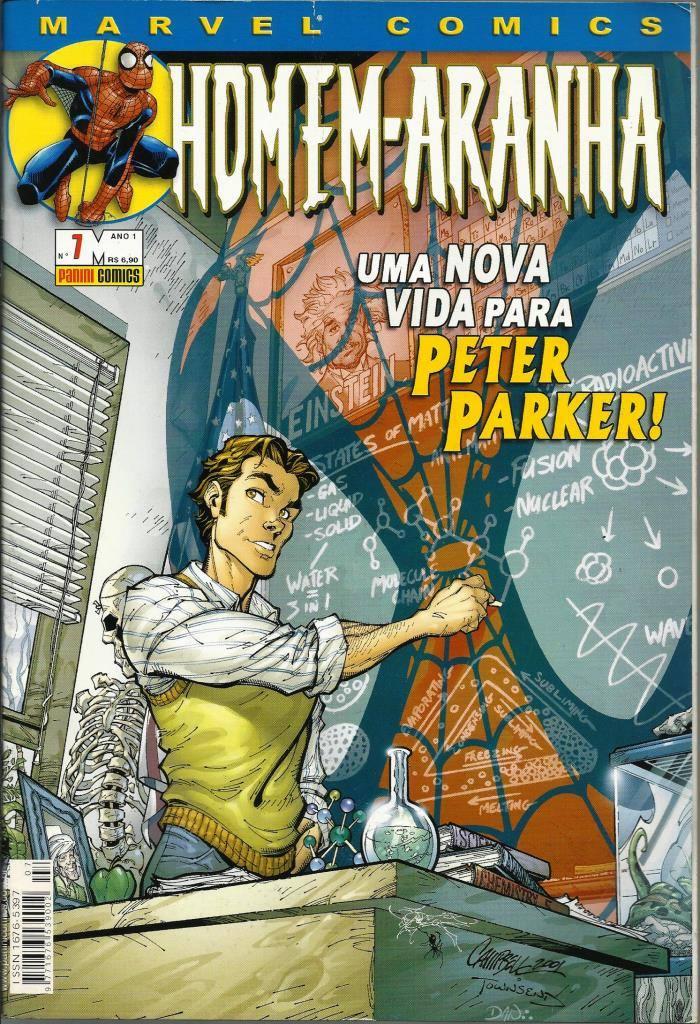 f7b43d8a74 177 Revista Hqs 2002- Rvt- Homem-aranha- Nº. 07- Uma Nova - R  25