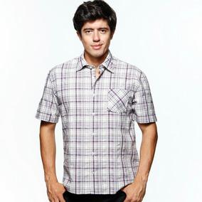 093880f4af 1776 - Vr Menswear - Camisa Soft M. Curta - Algodão - Xadrez