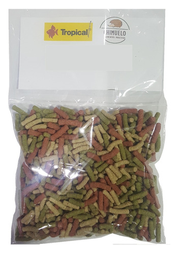 18 bolsas de pellet tortuga tropical + envio gratis