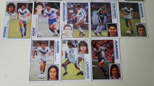 18 figuritas del club vélez sarsfield año 1993