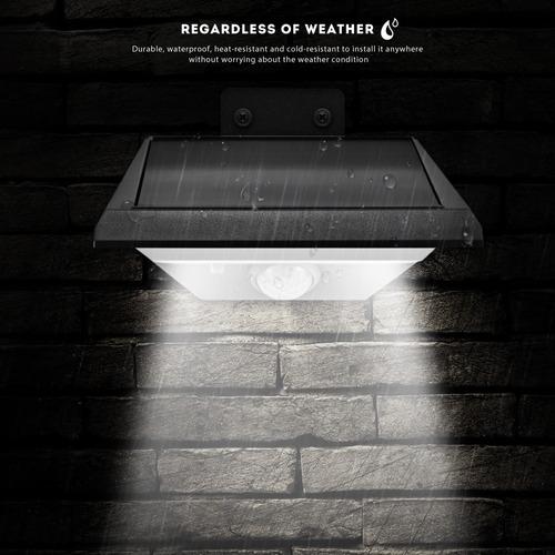 18-led solar del sensor de movimiento de la luz del led