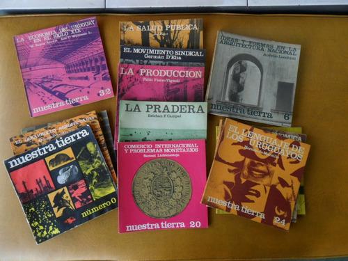 18 libros: wettstein y de colección nuestra tierra uruguay