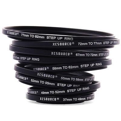 72mm 55-72 mm Adaptador filtro adaptador anillo Step-up 55mm