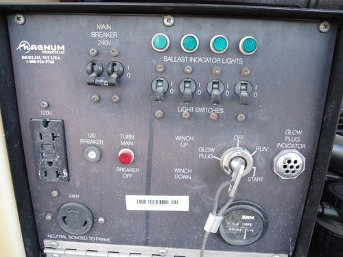18) promocion torre de luz magnum generador de 6 kw 2006