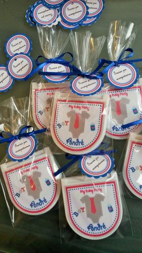 18 recuerdos para baby shower costureros  personalizados
