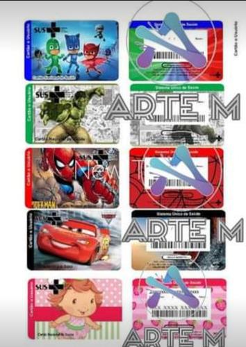180 artes prontas cartão sus personalizado