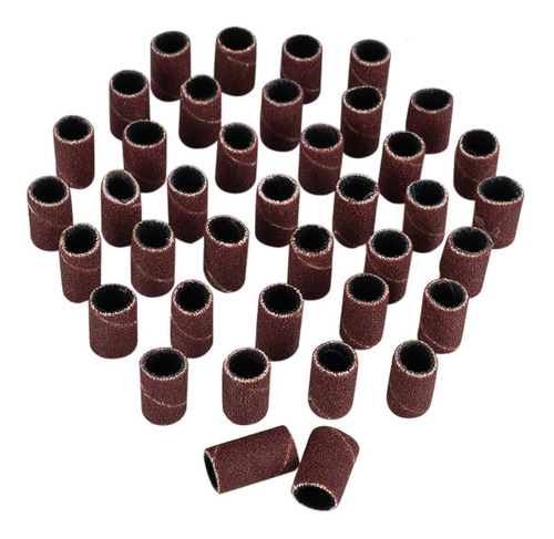 180 bandas de lija para taladro de uñas uñas acrílicas