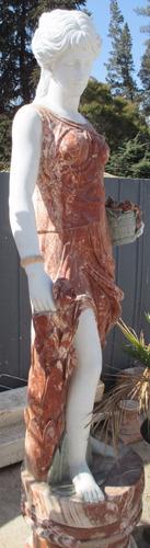 180  cms. -verano- escultura mármol -