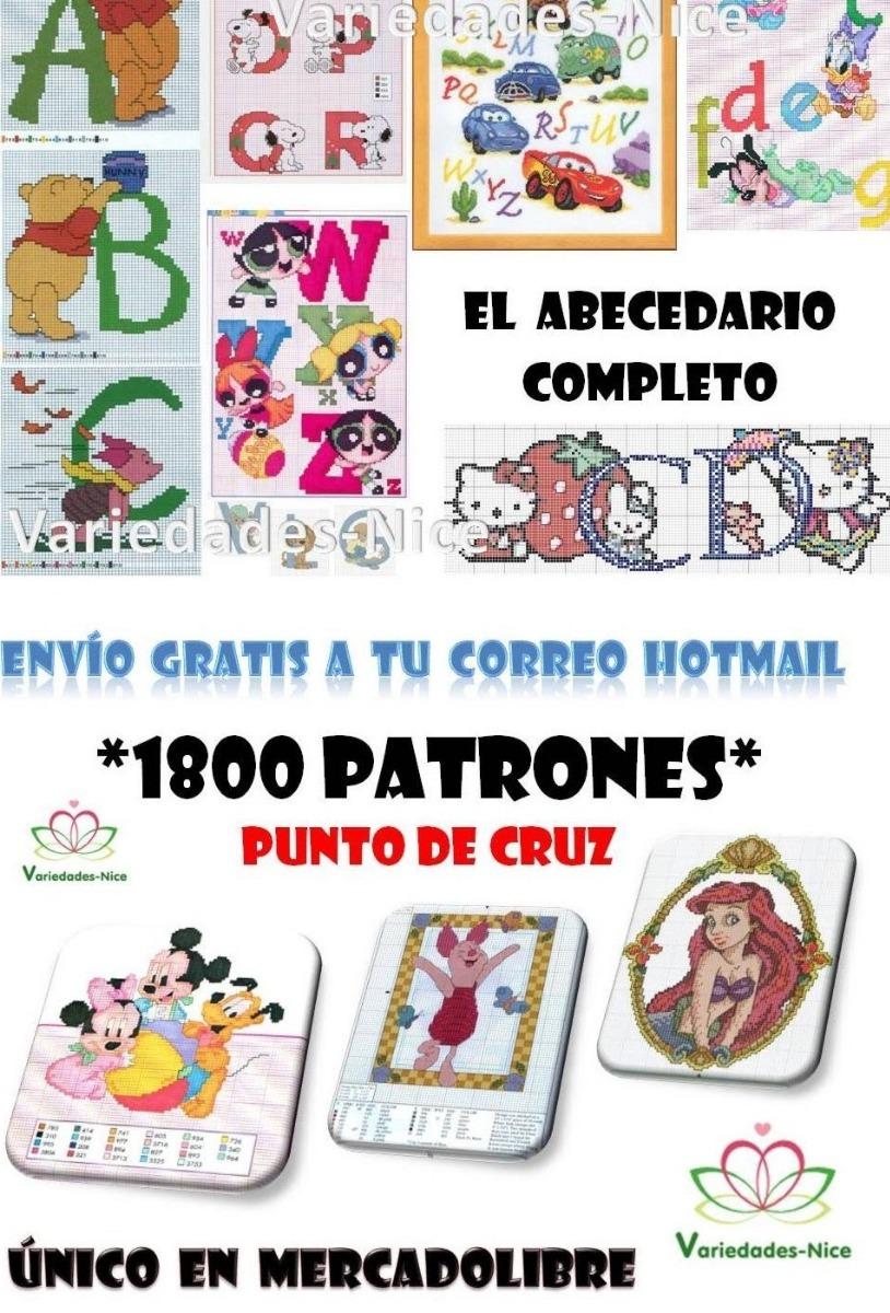 1800 Patrones Punto De Cruz, Con Variados Motivos - $ 150.00 en ...