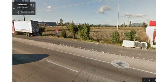1.85 ha frente autopista 57, pedro escobedo, qro.