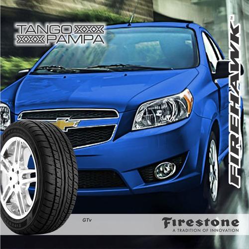 185/55 r 15 82v firestone firehawk gtv 55r15 envío gratis $0