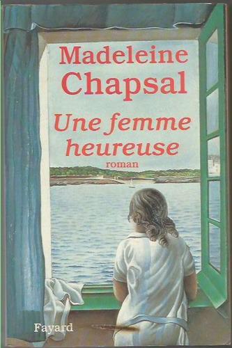 186 - literatura madeleine chapsal