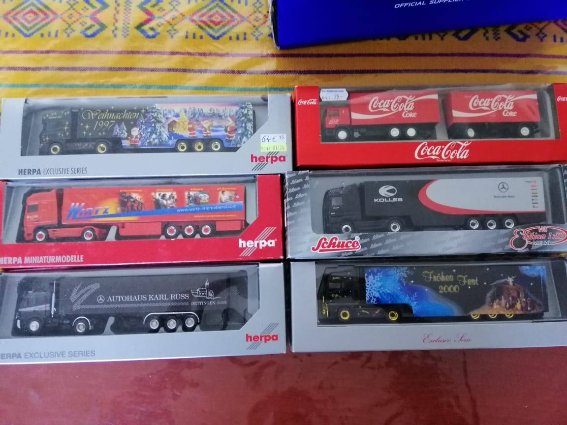 1:87 Ho Man Tgx Herpa Con Thermo King - $ 1,180 00