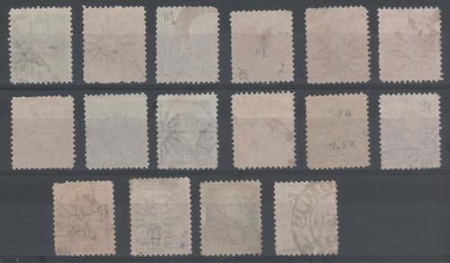 1892 a 95  tres proceres sol grande usadas completa u$46+