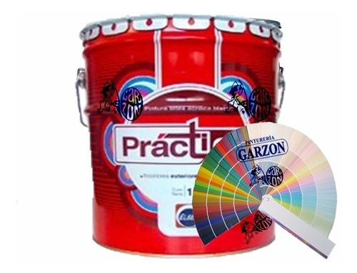 18l pintura elbex latex int ext con color pastel a eleccion!