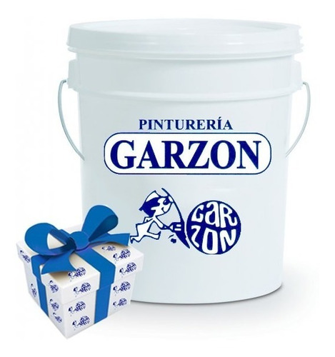 18l pintura latex interior pintureria garzon + regalo!