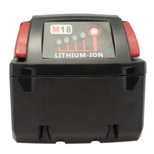 18v batería de ion de litio de 4000mah para milwaukee 48-11-
