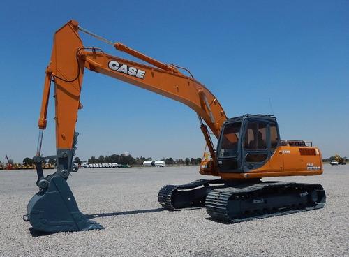 19) excavadora hidraulica case cx210 2005