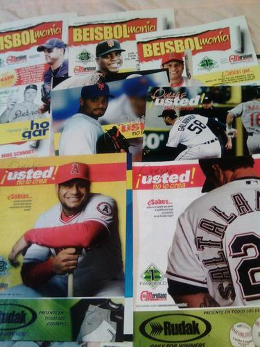 19 fasciculos coleccionables de beisbol