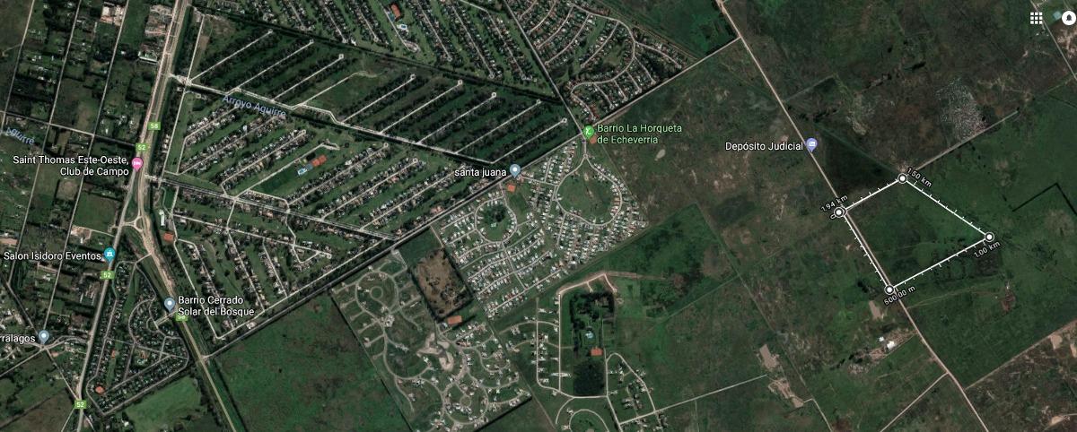 19 hectáreas ideales para emprendimiento inmobliario