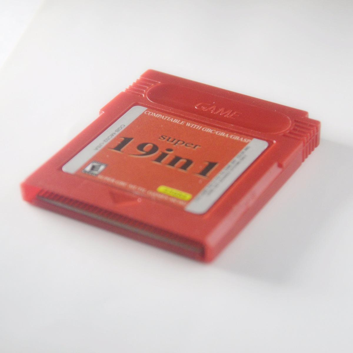 19 In 1 Gameboy Color Y Gameboy Advance Gba C Juegos Rpg 600 00