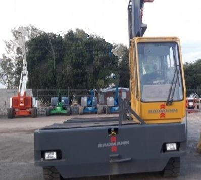 19) montacargas de carga lateral baumann 15500 lbs