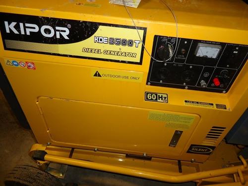 19) oferta torre de luz kipor 4x400 3.5 kw 4 mts nueva