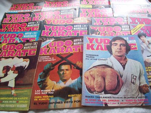 19 revistas retro yudo karate - primeros números